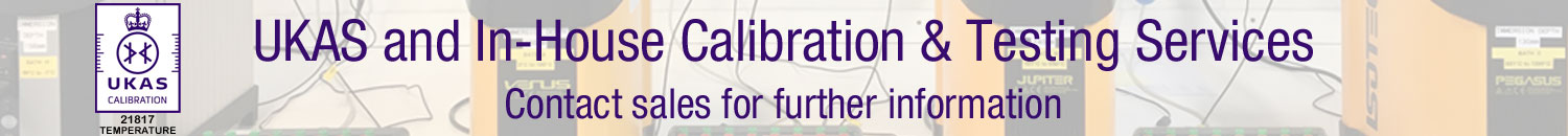 UKAS and In-House Calibration & Testing Services