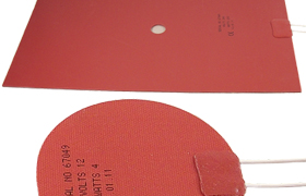 Silicone Rubber Mat Heaters