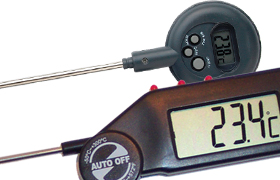 LCD Thermometers