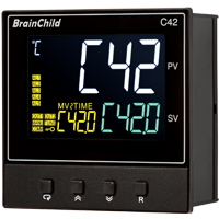 C Series Fuzzy + PID Temperature/Process Controller (96 x 96 x 59mm)