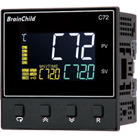 C Series Fuzzy + PID Temperature/Process Controller (72 x 72 x 59mm)