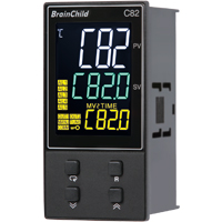 C Series Fuzzy + PID Temperature/Process Controller (48 x 96 x 59mm)