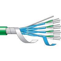 (CM502...CM736) Multi Pair Flame Retardant (FR) PVC Unarmoured Thermocouple Cable (-30°C to +70°C)