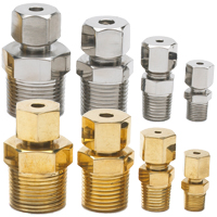 NPT Adjustable Compression Fittings