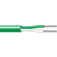 CT30...CT55 - Single Pair PFA Flat Pair Thermocouple Cable (-75°C to +260°C)