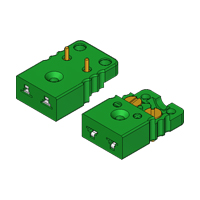 Miniature PCB Socket - Flat Mounting