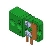 Miniature PCB Socket - Side Mounting
