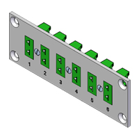 Pre-assembled Miniature Thermocouple Connector Panels