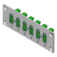 Pre-assembled Miniature Thermocouple Connector Panels (Locking)