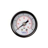 (GMD) Steel Case Utility Pressure Gauge (40mm Ø)