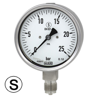 GSP - Wika Safety Pattern Pressure Gauge (100mm Ø)