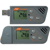 HDT-161 - Multiple-Use PDF Data Logger (Temperature Internal/External NTC Thermistor)