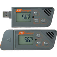 (HDT-162) Multiple-Use PDF Data Logger (Temperature Internal NTC Thermistor, Humidity Internal Capacitive)