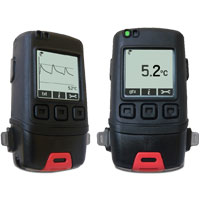 (HDT-GFX-1) Temperature Data Logger with Graphic LCD Screen