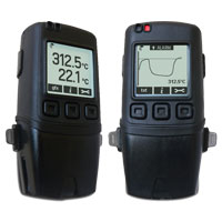 Dual Channel Thermocouple Data Logger with Graphic LCD Screen