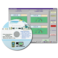 HH-4208SW - Software For 12 Channel Thermocouple Data Logger