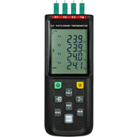 HH-521BT - 4 Channel Thermocouple Data Logger (with Bluetooth)