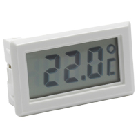 (HR-300) Indoor Panel-Mount Temperature Display with Internal Sensor