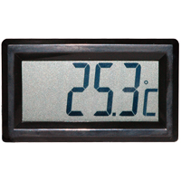 (HR-310) Indoor Panel-Mount Temperature Display with Internal Sensor and PVC Suction Pad