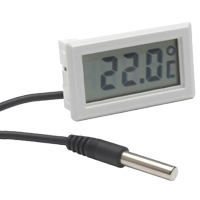 (HR-400) Indoor Panel-Mount Temperature Display with External Probe