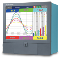 PR30 - Paperless Chart Recorder (Up to 48 Channels)