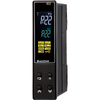 (R22) C Series Fuzzy + PID Temperature/Process Controller (22.5 x 96 x 83mm)
