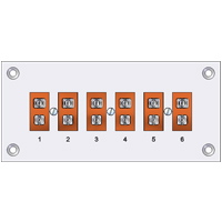 RPH - Pre-assembled Standard Thermocouple Connector Panels (High Temperature)