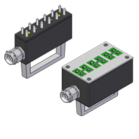Standard 6-Way Thermocouple and RTD Connectors