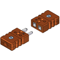 (RSPH/RSJH) Standard High Temperature Thermocouple and RTD Connectors