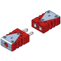 (RSPU/RSJU) Standard Ultra High Temperature Thermocouple and RTD Connectors