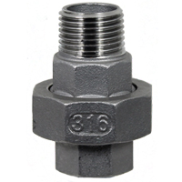 (RUSS-MF) 316 Stainless Steel Rotating Union (Male/Female Thread)