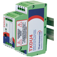 TXDU4 - Isolated DIN Rail Mounting Universal Input/Output Transmitter