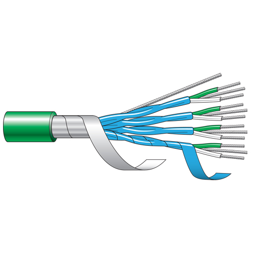 Multi Pair Xlpe Ls0h Armoured Thermocouple Cable
