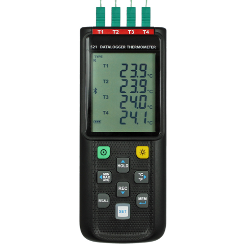 Data Logger Programmable Features