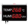 Large LED Temperature and Humidity Display